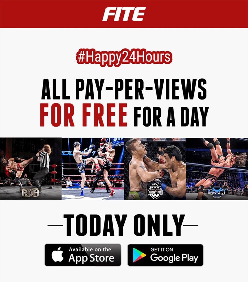 FITE Celebrates One Year Anniversary With 24 Hour FREE Programming