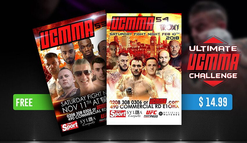 Get ready for a Super KO weekend with UCMMA Going Exclusively FREE for FITE Viewers for 24 Hours Only ahead of their next PPV UCMMA 54