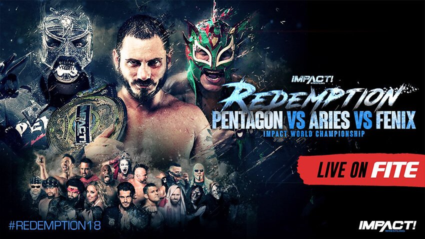 IMPACT's Redemption is live this Sunday on FITE iPPV. Official Pre-showairs free worldwide.