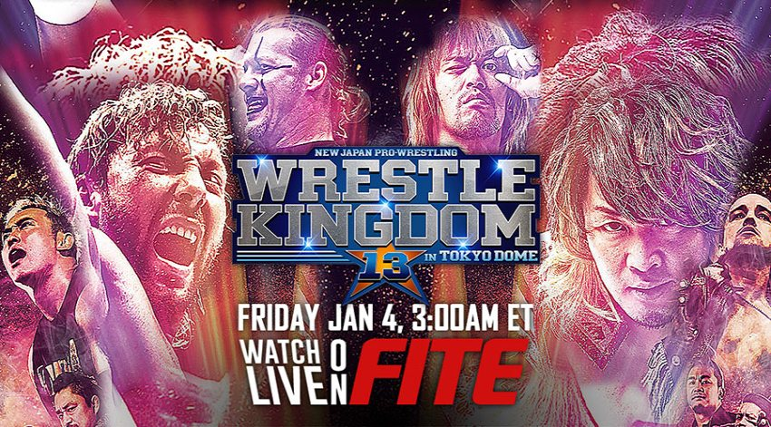 NJPW Wrestle Kingdom 13 set to be available Live on FITE