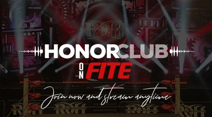 ROH HonorClub Now Available on FITE