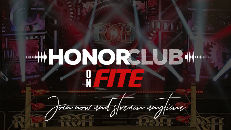 ▷ Watch ROH Pay Per Views with HonorClub on FITE - FITE