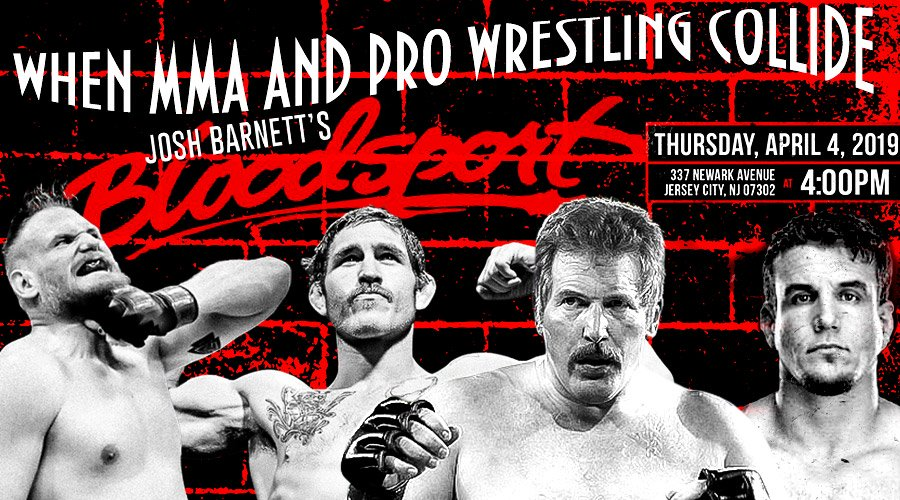 ▷ Josh Barnett's Bloodsport - When MMA and Pro Wrestling Collide - FITE