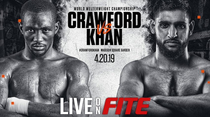 Crawford Vs. Khan to Air Live on FITE