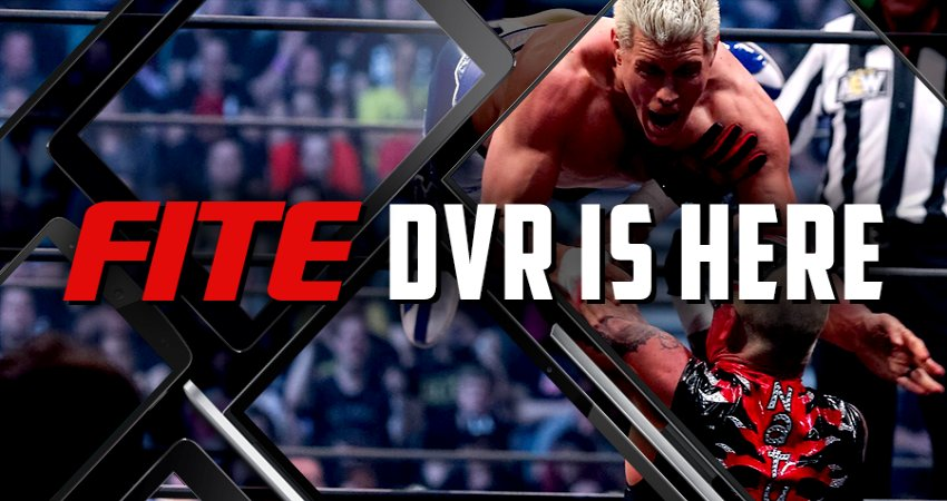 FITE DVR Is Here!