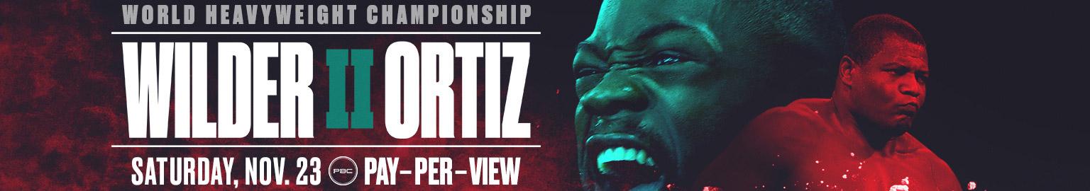 Wilder vs Ortiz 2