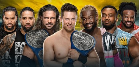 John Morrison & The Miz vs. The Usos vs. The New Day