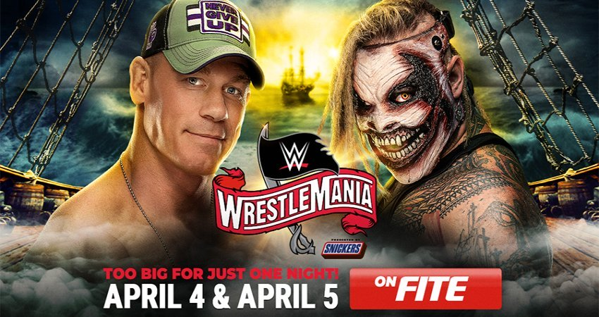 WrestleMania 36 - How To Watch