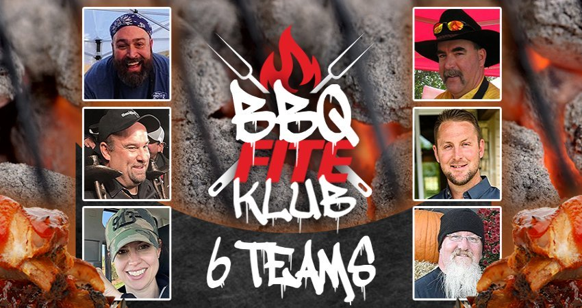 Six of the best BBQ teams in the world will compete in BBQ FITE Klub