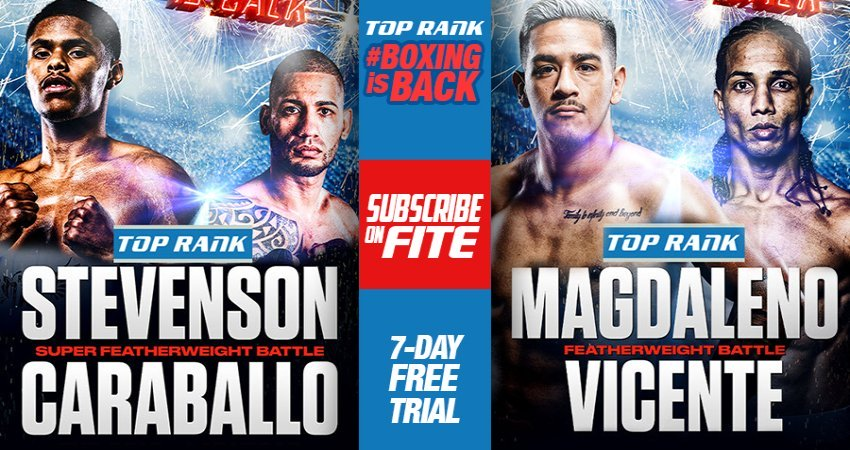 FITE Announces Live Twice-Weekly Top Rank Boxing Available via PPV or Subscription