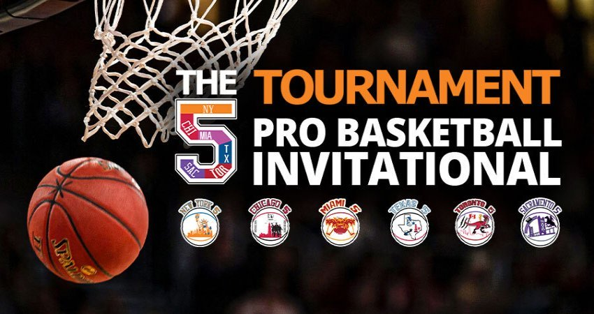 The 5 Tournament – a Pro Basketball Invitational on FITE