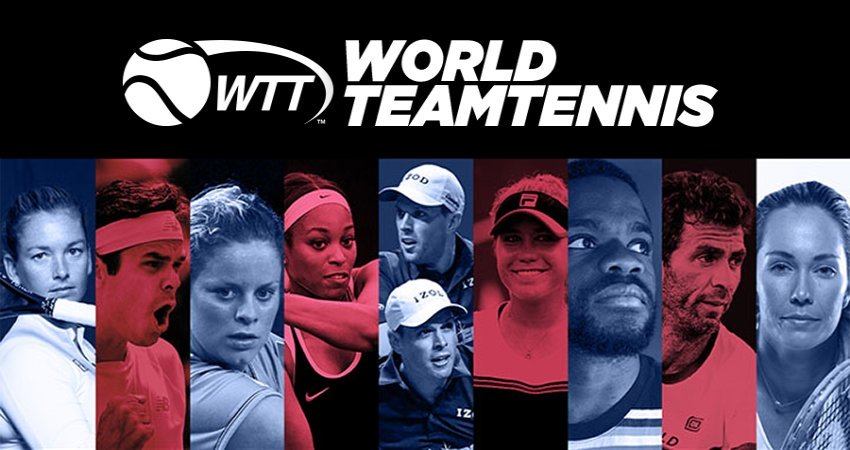 Teams and Rosters in World Team Tennis 2020