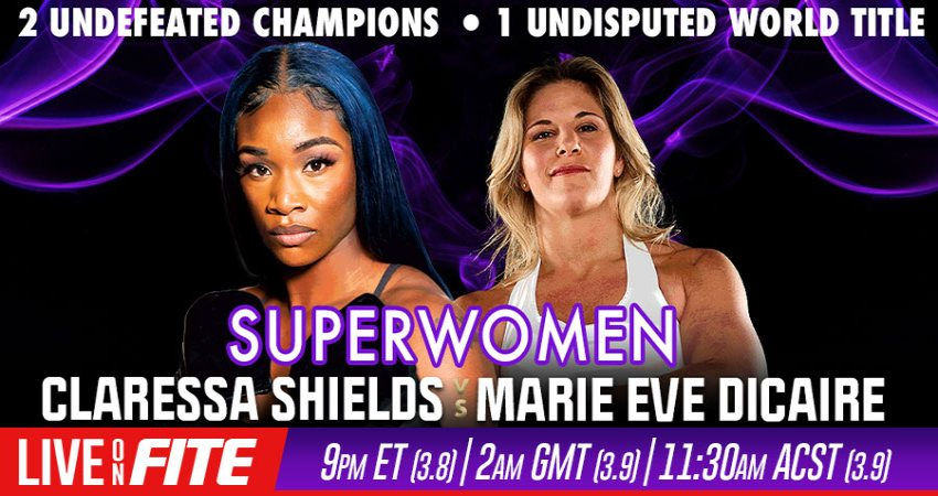 Boxing and MMA Superstar Holly Holm and Trailblazing Latina Broadcaster Claudia Trejos Lead All-Star Commentary Team for PPV Telecast of SUPERWOMEN: Shields Vs Dicaire Event on Friday, March 5