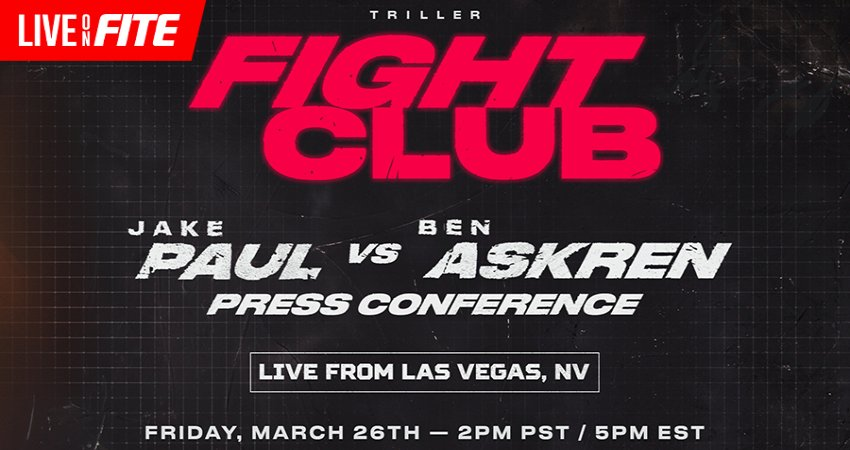 Triller Fight Club To Introduce Fighters, Entertainers On Upcoming Card In Press Conference Friday, March 26