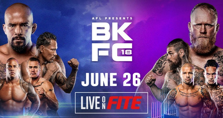 BKFC 18 – Live on FITE PPV on June 26
