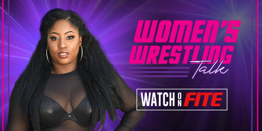 Women's Wrestling Talk with TK Trinidad now on FITE